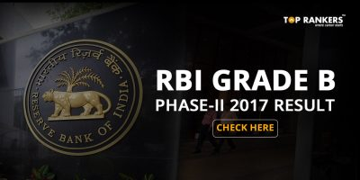 RBI Grade B Phase II Result 2017 is Out