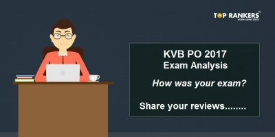 Karur Vysya Bank PO 2017 Exam Analysis – How was your Exam?