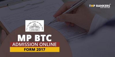 MP BTC Admission Online Form 2017