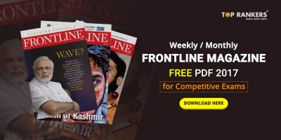 Frontline magazine free download pdf 2017 – Weekly/Monthly for Competitive exams