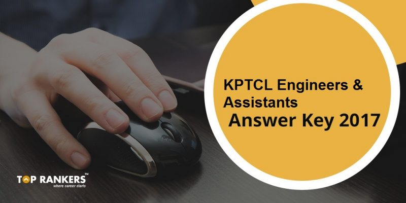 KPTCL Answer Key 2017