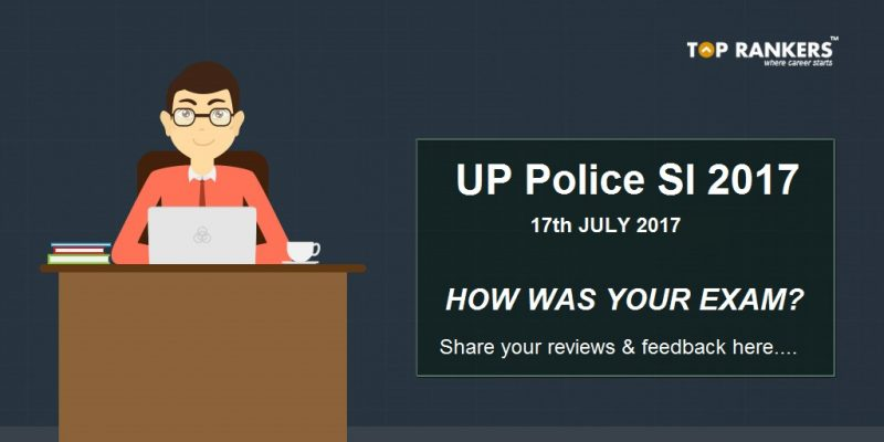 UP SI exam analysis 2017 17th July