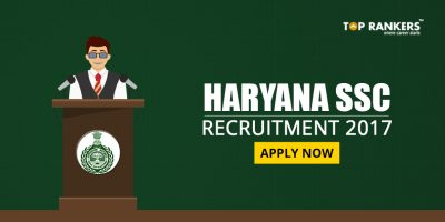 Haryana SSC Vacancy 2017