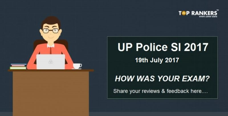 UP Police SI Exam Analysis 2017 19th July