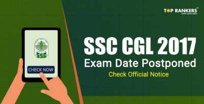 SSC CGL Tier 1 2017 Exam date and Shift timing : Official Notice