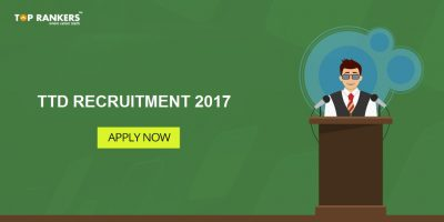 TTD Recruitment 2017