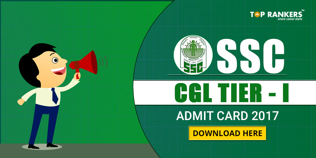 Ssc Cgl Admit Card: SSC CGL Admit Card 2018, Download Call Letter Now