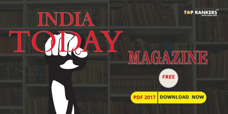 India Today Magazine Free Download PDF 2017