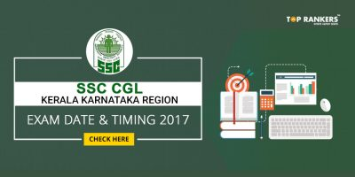 SSC CGL Kerala Karnataka Region Exam Date and Timing 2017