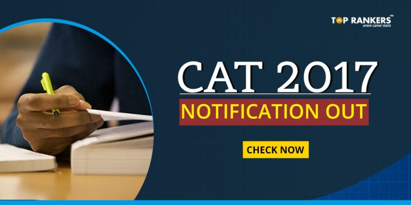 CAT 2017 Notification