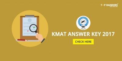 KMAT Answer Key 2017