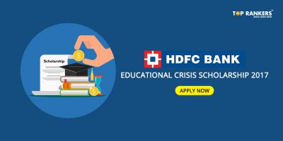 HDFC Scholarship 2017 : HDFC ECSS Educational Crisis Scholarship 2017