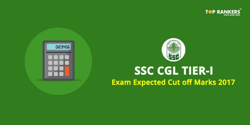 SSC CGL Expected cut off marks 2017