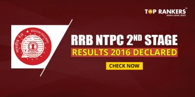 RRB NTPC 2nd Stage Results 2016 Declared: Check Here