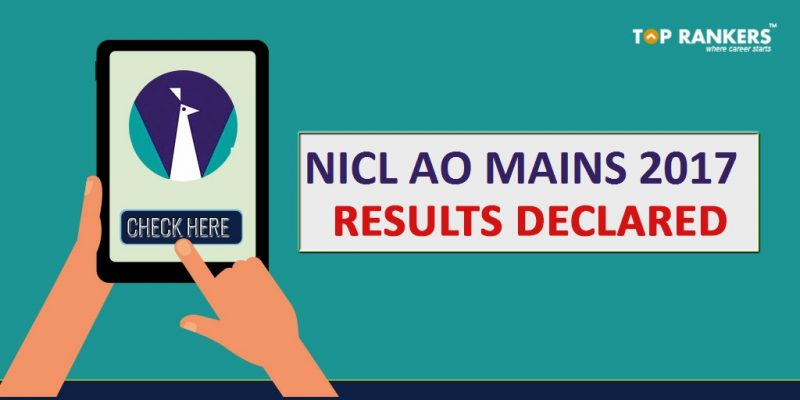 NICL AO Mains Result 2017