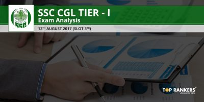 SSC CGL TIER 1 EXAM ANALYSIS 12TH AUGUST 2017 SLOT 3