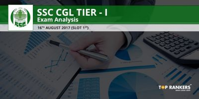 SSC CGL TIER 1 EXAM ANALYSIS 16TH AUGUST 2017 SLOT 1