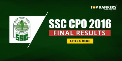 SSC CPO 2016 Final Result : Results for SSC CPO 2016 expected soon