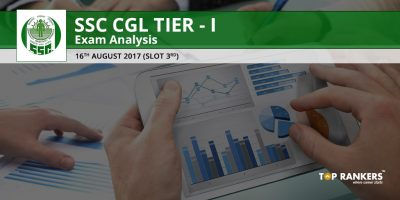 SSC CGL TIER 1 EXAM ANALYSIS 16TH AUGUST 2017 SLOT 3
