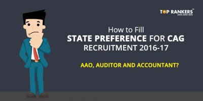 How to fill State Preference for CAG Recruitment 2016-17 of AAO, Auditor and Accountant?