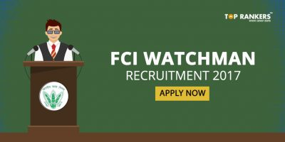 FCI Watchman Recruitment 2017: Apply Now
