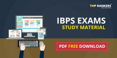 IBPS Bank Exams Study Material FREE PDF Download