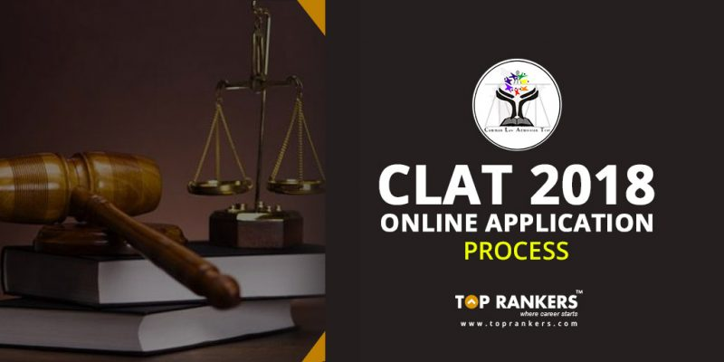 CLAT 2018 Online Application Process