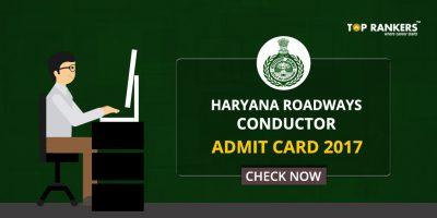 Haryana Roadways Conductor Admit Card 2017- Check Now!