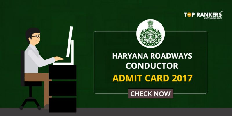 Haryana Roadways Conductor Admit Card 2017