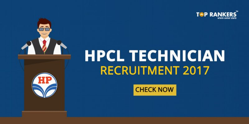 HPCL Technician Recruitment 2017