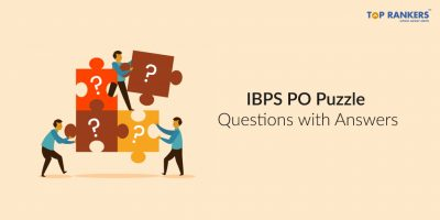 IBPS PO Puzzle Questions with Answers FREE PDF Download