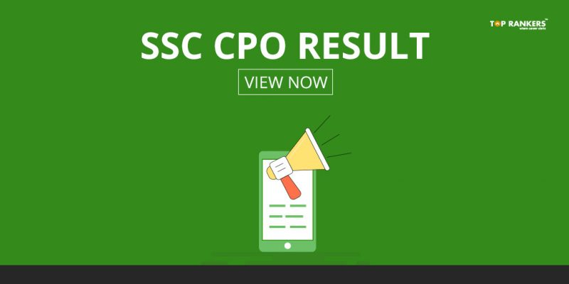 SSC CPO Result 2017 – Check Paper 2 List of Qualified Candidates
