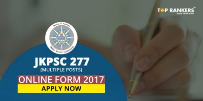 JKPSC Online Form 2017: Apply for 227 Posts Now