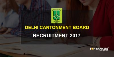 Delhi Cantonment Board Recruitment 2017