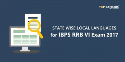 State wise local languages for IBPS RRB VI Exam 2017 – Compulsory