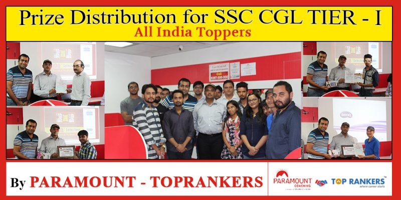 Meet our toppers of SSC CGL Tier 1 All India Test