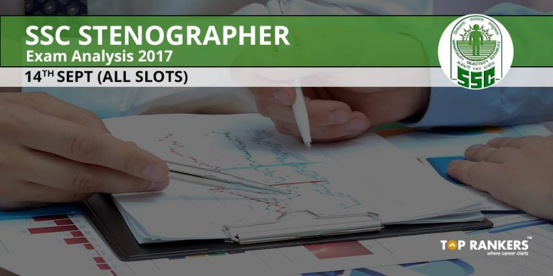 SSC Stenographer Exam Analysis 2017