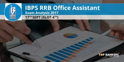 IBPS RRB Office Assistant Exam Analysis 17th September 2017 Slot 4