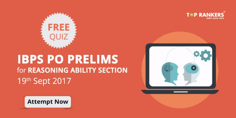 IBPS PO Prelims Free Quiz for Reasoning Ability