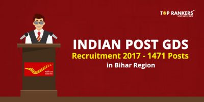 Indian Post GDS Recruitment 2017 for 1471 Posts- Check Details Now