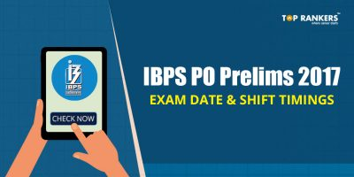 IBPS PO Prelims Exam Date and Shift Timings 2017