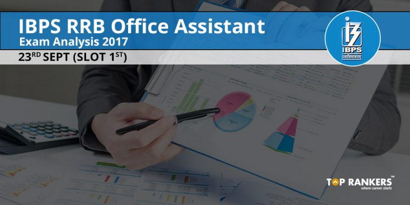 IBPS RRB Office Assistant Exam Analysis 2017
