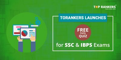 TopRankers launches FREE Daily Quiz, Sample Question Paper for all SSC & IBPS Exams