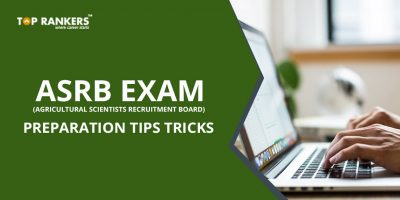 ICAR ASR and NET exam preparation tips