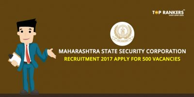 Maharashtra State Security Corporation Recruitment 2017, Apply for 500 Vacancies