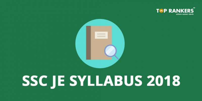 Ssc je syllabus download latest syllabus for paper 1 2 in pdf ssc je syllabus 2018 find the complete ssc je syllabus for civil electrical and mechanical engineering fandeluxe Image collections