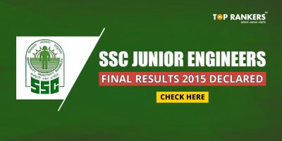 SSC JE Results and Marks 2015 & 2016 – Check Here
