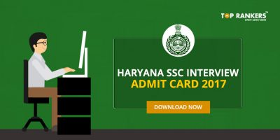 Haryana SSC Clerk Interview Admit Card 2017- Will be Out Tomorrow i.e. 11th October
