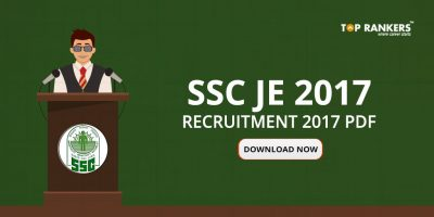 SSC JE Recruitment 2017 PDF Download – Official Notification
