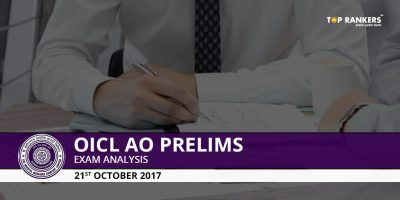 OICL AO Prelims Exam Analysis 2017- 22nd October 2017 Slot 1